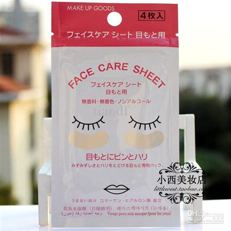 daiso collagen moisturizing mask eye stickers eye