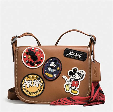 Tas Coach Mickey Ear Yellow disney and coach collaborated again to create a more affordable chic collection