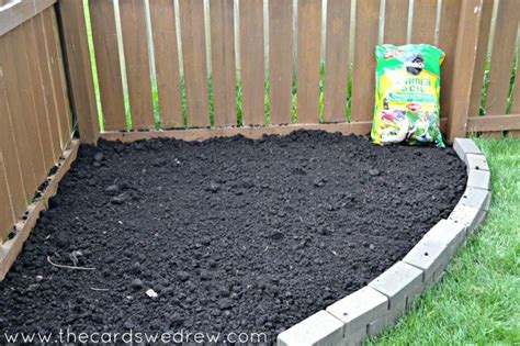how to prepare a flower bed how to make a brick flower bed outdoors pinterest