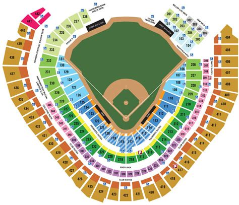 miller park seating map milwaukee brewers seating chart milwaukee brewers