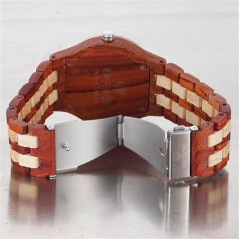 Skone Casual Wood Bamboo Jam Tangan Original Brown skone casual wood bamboo quartz 7399 brown jakartanotebook