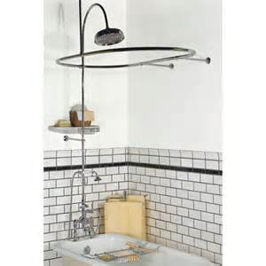 clawfoot bathtub shower conversion kit clawfoot tub to shower conversion kits signature hardware