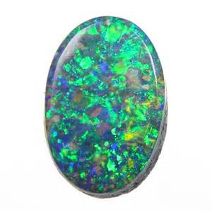 Opel Gemstone Opals Peacock Colours And