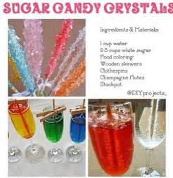 how to make sugar candy crystals cooking pinterest