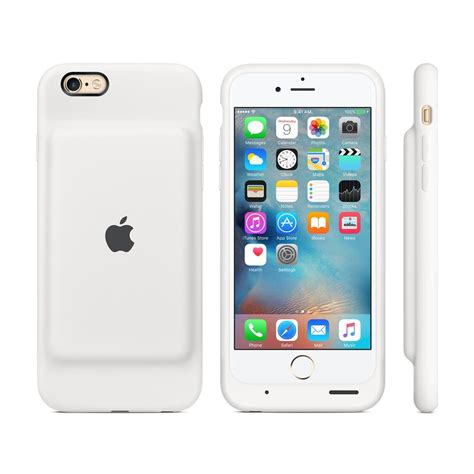 apple iphone 6 apple iphone 6 6s smart battery case white istyle