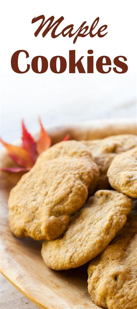 Monasari Butter Cookies With Syrup 25 best ideas about maple cookies on maple