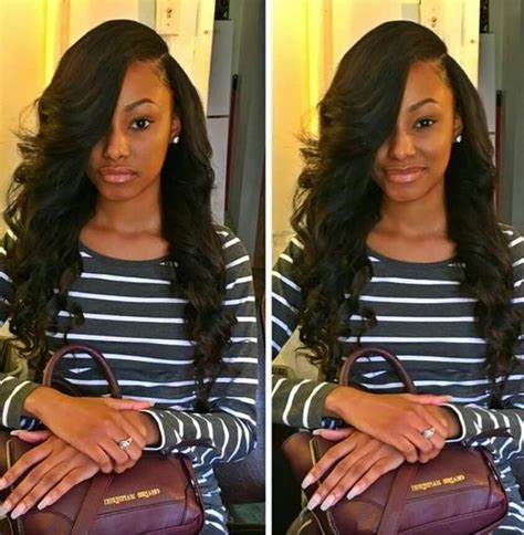 body wave weave hairstyle pictures 17 best ideas about hair weaves on pinterest black hair