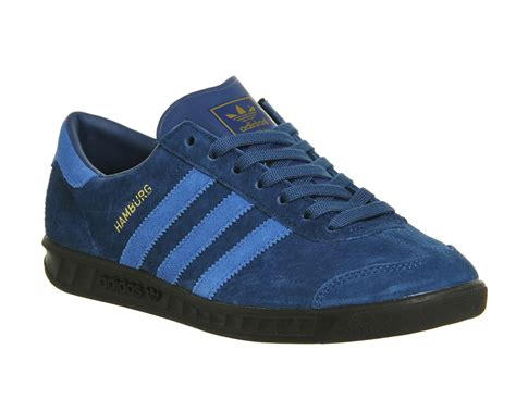 Adidas Hamburg 5 adidas hamburg shadow blue lush blue exclusive trainers