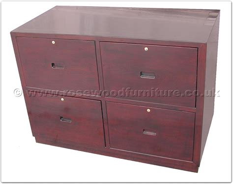 Armoire With Drawers And Hanging Rosewood Cabinet With 4 Hanging Files Drawers Ffinv24604