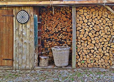 brennholz richtig lagern so geht s aktion holz - Lagerung Kaminholz