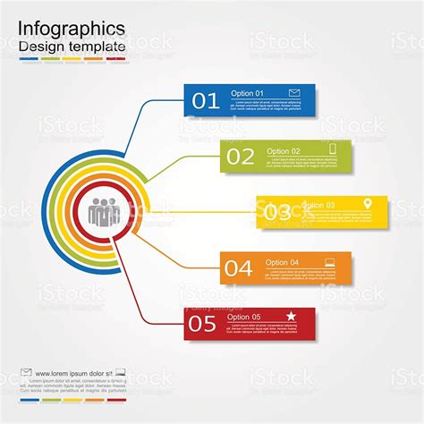 infographic layout vector infographic design template vector illustration stock