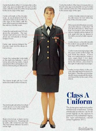 womens hair style in uniform us arm service army dress uniforms class a uniforms