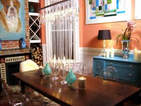 orange and blue home decor color rules for small spaces hgtv