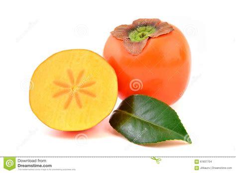 Keset Kaki Printing Fruits Berkualitas persimmon fruit stock photo image of health asian half 61837704
