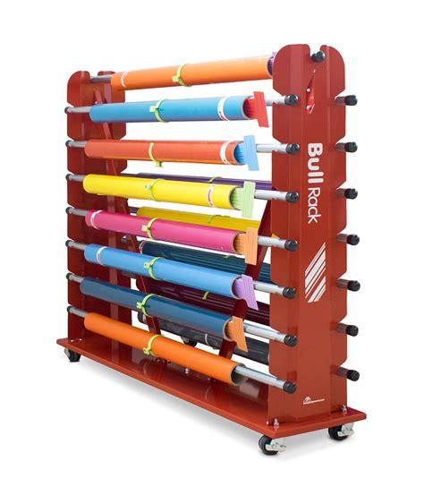 Vinyl Storage Rack by Media Racks For Sign Tools Plastgrommet