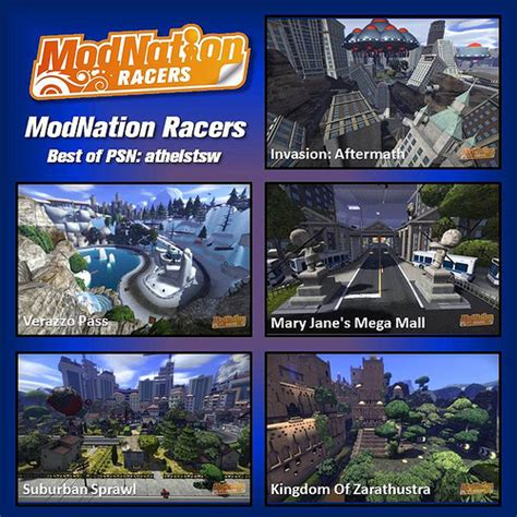 Cd Modnation Racers modnation racers road trip feature previews 171 psp news