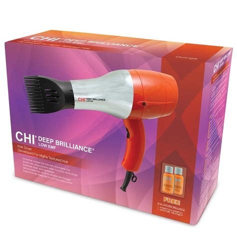best hair dryers for damaged hair new chi deep brilliance low emf 1800w professional hair