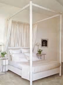 white four poster bed decor pinterest