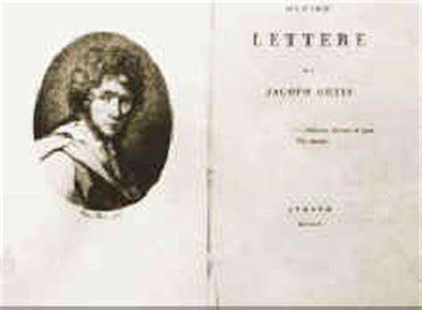 le ultime lettere di jacopo ortis trama scheda ortis