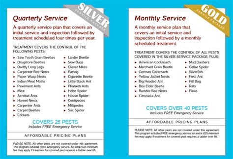 annual home protection plan home protection plan pests pest protection programs millette pest control