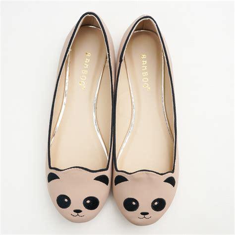 panda flats shoes marci beth panda ballet flats store powered by
