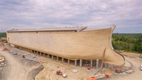 Noah S   wordlesstech real size replica of the noah s ark opens
