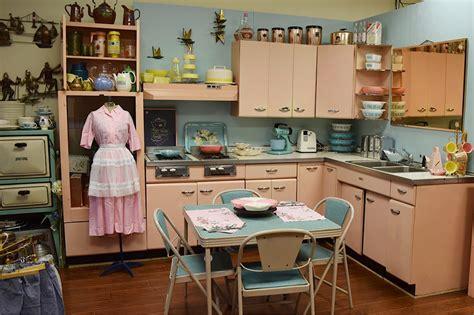 Pink Vintage Kitchen by Saves A 1957 Harrison Pink Steel Kitchen Now On