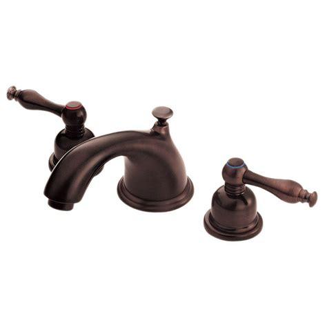 oil rubbed bronze widespread bathroom faucet danze sheridan 8 in widespread 2 handle low arc bathroom