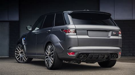 customized range rover 2017 2017 kahn design land rover range rover sport svr