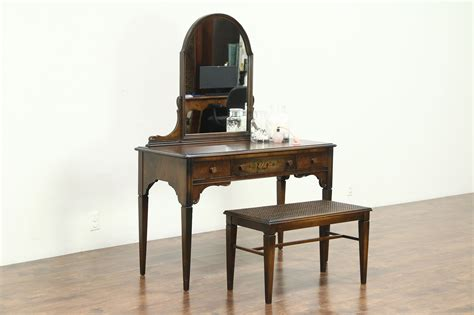 sold vanity  dressing table desk bench  vintage