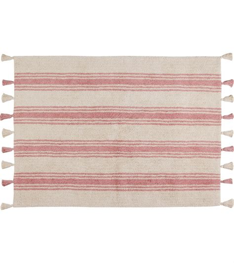 coral pink rug canals stripes rug coral pink 4 x 5 3 quot