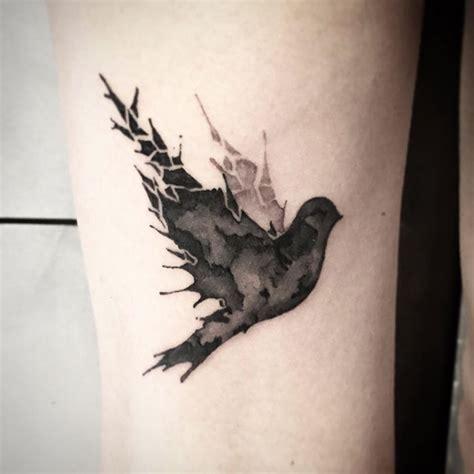 kumpulan tato burung simpel  keren abis bergambar tato