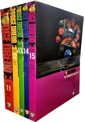 set in the series volume 3 books judge dredd complete files volume 1115 collection 5