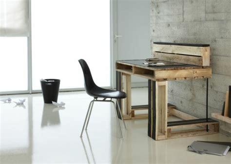 bureau en palettes bureau en palette de bois mzaol com