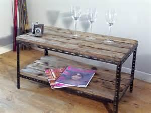 une table basse ou de chevet industrielle indus home factory