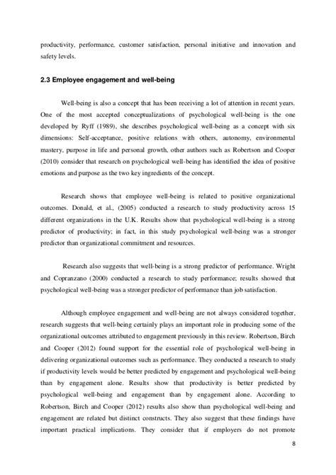 employee engagement dissertation dissertation managing for sustainable employee