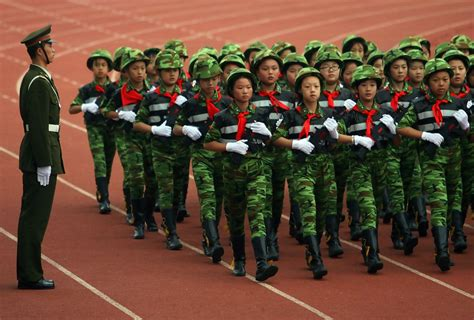 School Navy school students hold parade in nanjing zimbio