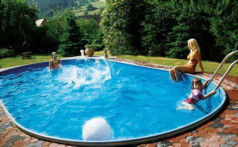 swimming pool aufbauen lassen infos zu pools zum einbauen hornbach