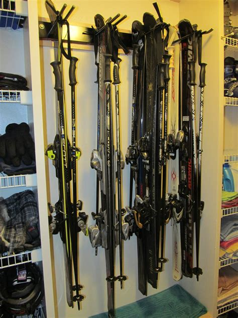 Home Ski Rack by Home Utility Ski Rack Storeyourboard