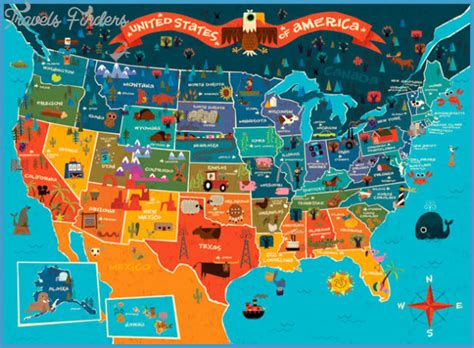 united states tourist map united states map tourist attractions travel map