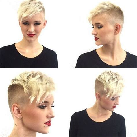 short blonde hairstyles 2015 for egg shaped head 35 very short hairstyles for women pretty designs