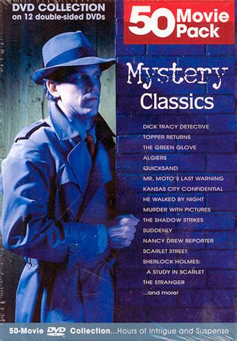 western classics 50 pack 12 50 pack mystery classics import dvd discshop se