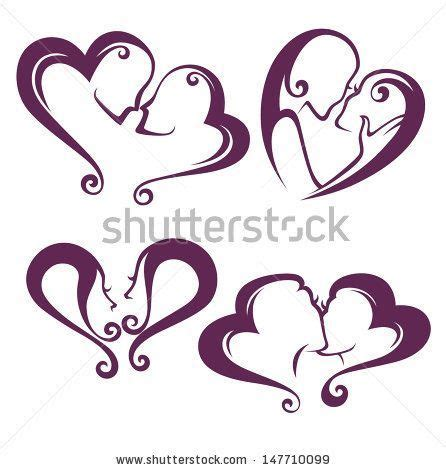 lesbian couple tattoos vector collection of couples stock