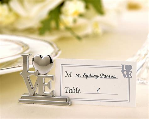 wedding placecard holders cheap wedding place cards love place card holder wedding reception