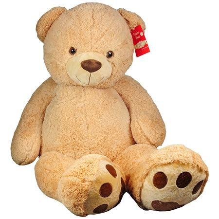 jumbo teddy bears best made toys jumbo stuffed teddy 52 inch