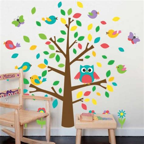 Tree Wall Decals Stickers For Kids Bedrooms Nursery Wall Decals For Nursery Australia