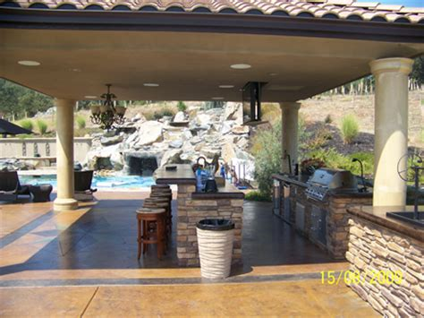 Luxury Outdoor Kitchens by Outdoor Kitchen Luxury Outdoor Living In Sacramento