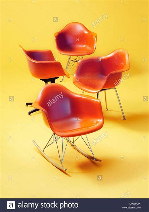 sedie arancioni sedie arancioni foto immagine stock 57727563 alamy