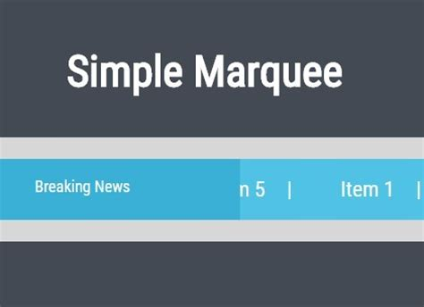 text scrolling plugin for jquery marquee | free jquery