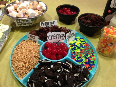 Sundae Bar Toppings sundae bar toppings hudson s bday 2nd birthday